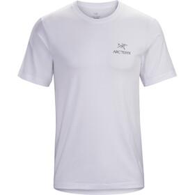 Arc'teryx Emblem Camiseta Manga Corta Hombre, white